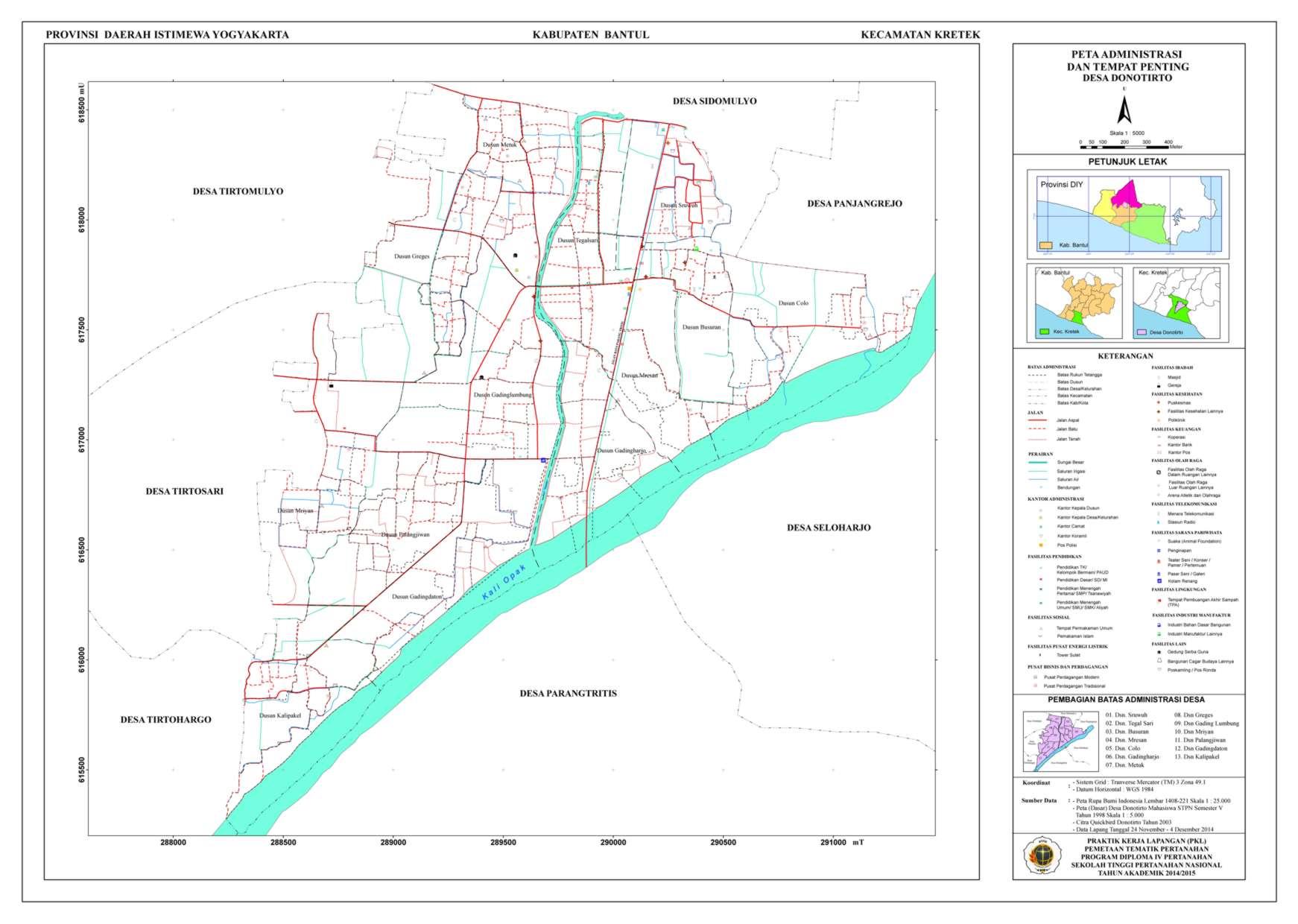 Peta Administrasi Donotirto_A0